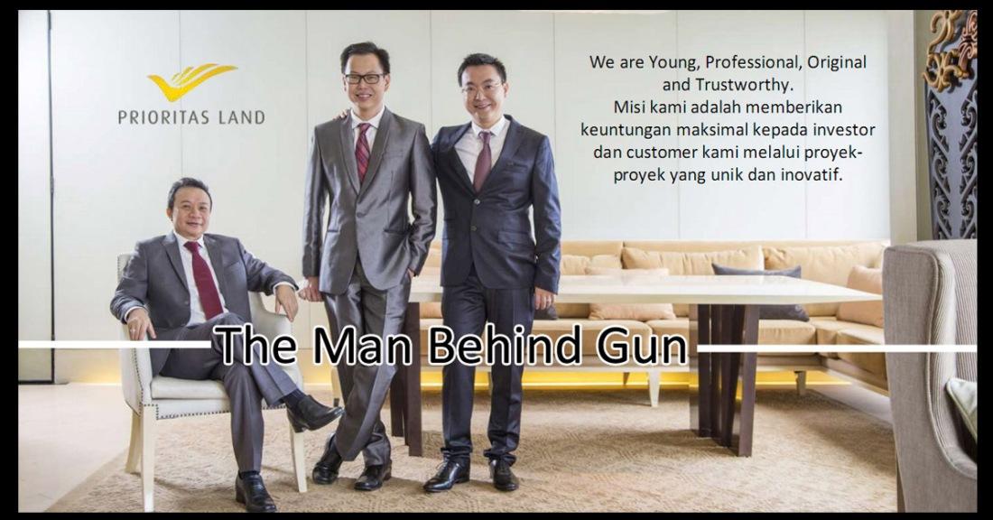 aplod behind the gun