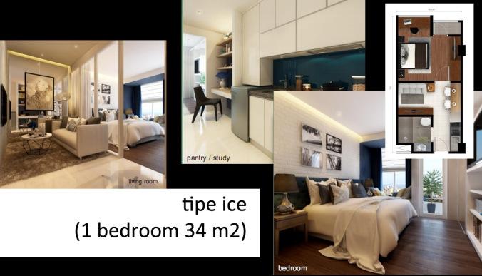 tipe ice 1 bedroom
