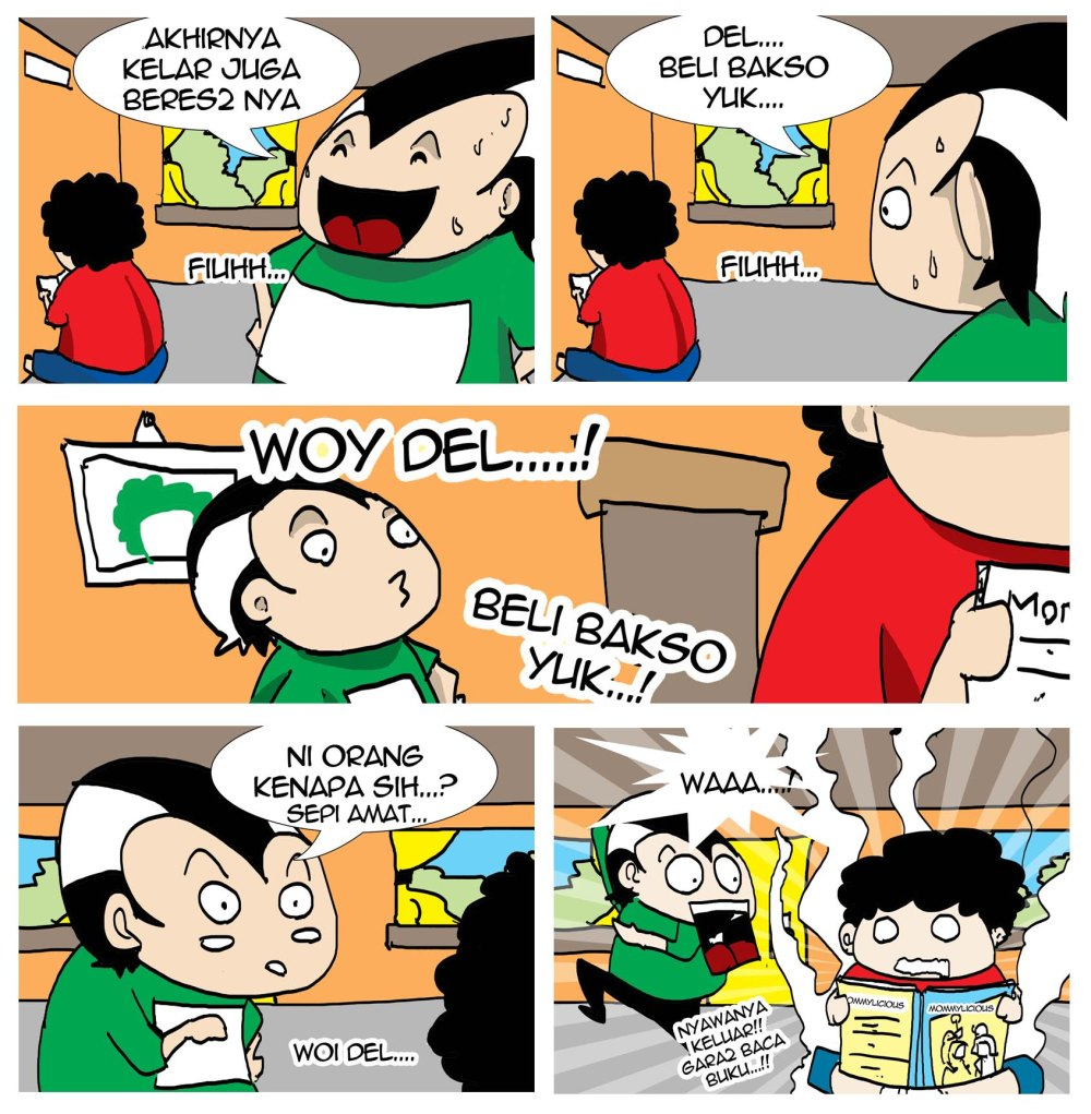 komik for mommy